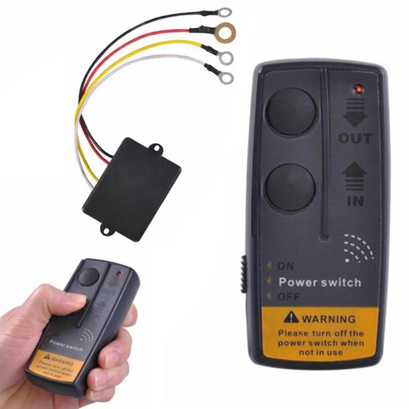 Kit de Control remoto de cabrestante inalámbrico de 12V para coche ATV SUV UTV Universal Cargador USB para coche de carga rápida 3,0 4,0 Universal 18W carga rápida en coche 3 puertos cargador de teléfono móvil para samsung s10 iphone 11 7