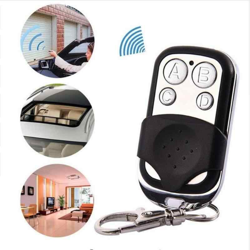 Universal Wireless 433Mhz Remote Control Copy Code Remote 4 Channel Electric Cloning Gate Garage Door Auto Keychain