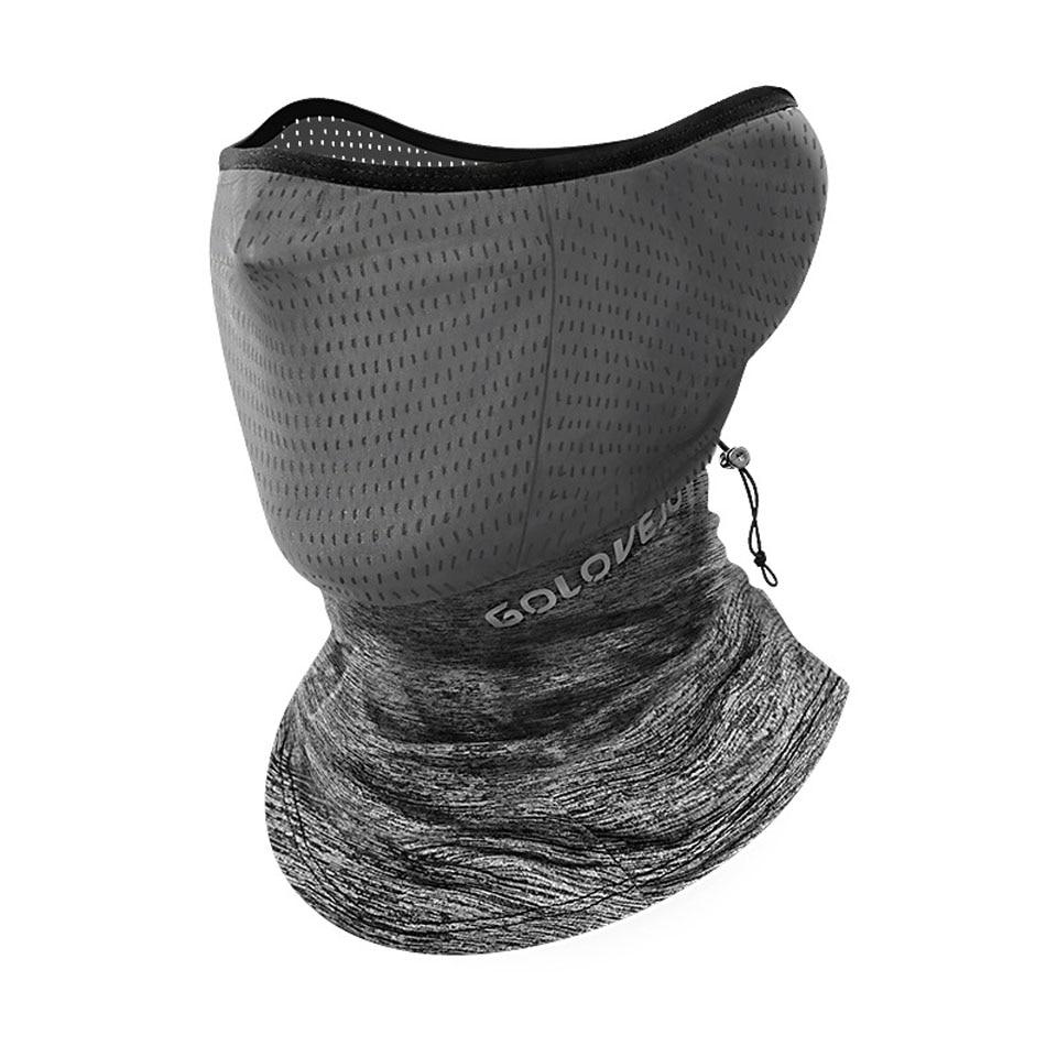 Summer Black Caps  Running Scarf Anti-UV Headwear Bicycle Bandana Sports Fishing Mask Cover Magic Scarf ice silk 1