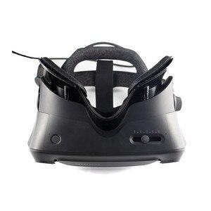 Image 2 - VR עין מסכת פנים כרית מחצלת מסגרת קסם מדבקת החלפת סט עבור שסתום מדד VR אוזניות אבזרים