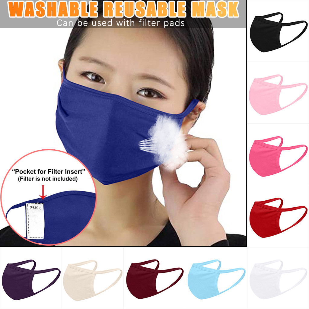 Mask Face Mask Scraf Mascarilla Máscara Anti-dust Reusable Mouth Cloth Pocket Mask Mouth Cover For Man And Woman Mascarillas Mas