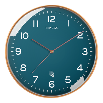 Creative Glass Bedroom Wall Clock Nordic Large Kitchen Stylish Wall Clocks Thick Watches Living Room Watch Home Decor II50BGZ