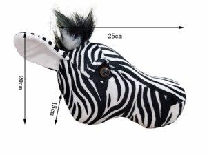 Image 1 - 2021 Zebra Caccia decorazioni hunter safari decorazione della parete di animali di peluche realistico reallife per la scuola materna o camera dei bambini foresta