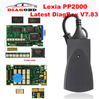 Lexia 3 PP2000 Full Chip Diagbox 7.83 Lexia3 For Citroen/Peugeot Automotive OBD OBD2 Car Diagnostic Auto Tool Scanner