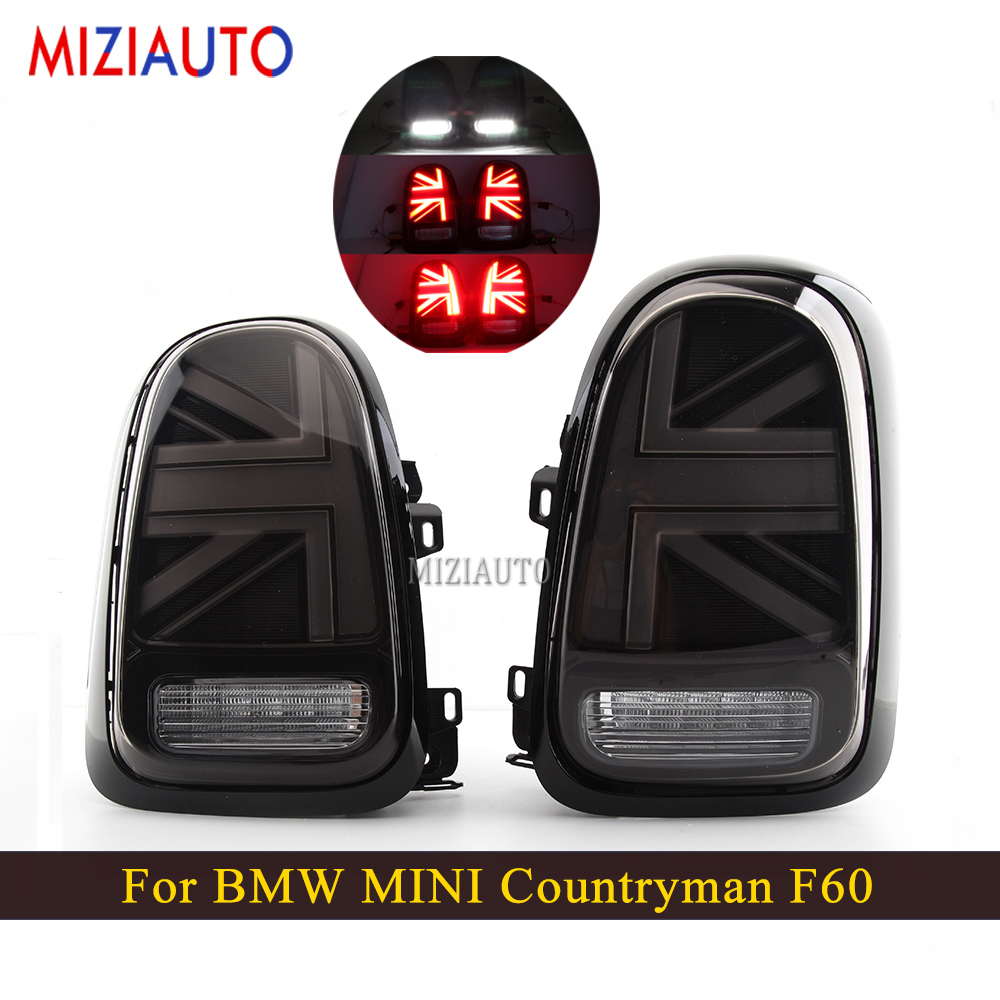 1 Pair Led Rear tail light For BMW MINI Countryman F60 Tail Lamp+Turn Signal+Brake+Reverse lights Stop Car Accessories