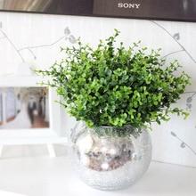 1 шт., искусственные листья, большие листья эвкалипта, растения, настенный материал, украшение, искусственное растение для дома, свадьбы, сада, вечерние, Декор