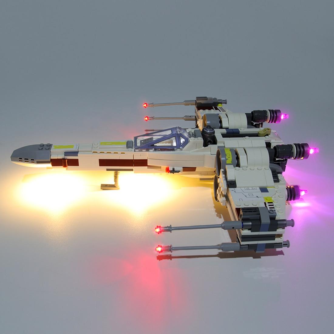 kit de iluminação usb para x-wing starfighter