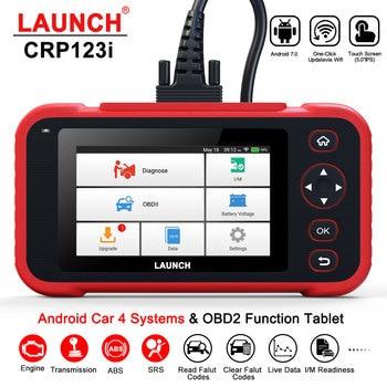 LAUNCH X431 CRP123i OBD OBD2 Coder Reader Scanner 4 System Diagnostic OBD 2 Auto Scanner Car Diagnostic Tool vs CRP123X CRP123E