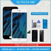 AAA + + + dla iPhone 5S 6 6S 7 8 Plus wyświetlacz LCD z zamiennikiem ekranu dotykowego 3D dla iPhone X XR XS Max OLED True Tone