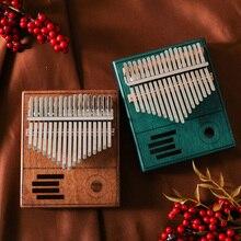 Большой палец пианино калимба 17 ключ африканская твердая сосна красное дерево калимба палец пианино калимба мбира тело Подарки Дерево Музыкальные инструменты