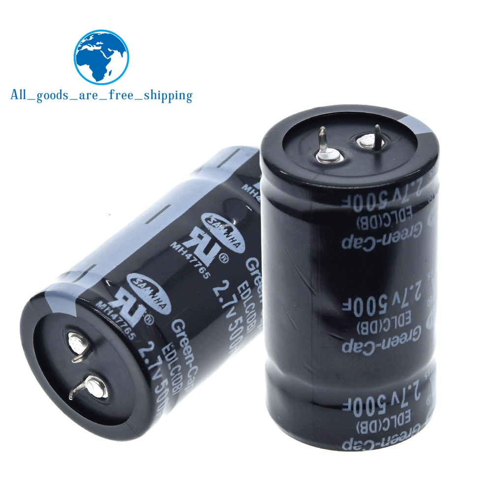 TZT Farad Capacitor Through-Hole General-Purpose Two-Feet/four-Feet 35--60mm