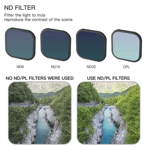 Image 2 - for GoPro Hero 8 Camera Black Accessories CPL ND8 ND16 ND32 Optical Glass Filter