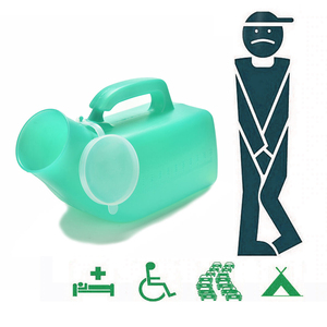 Storage Leak Proof Camping Travel Scale Emergency Portable Potty Hospital Handle Plastic Men Urinal With Lid Bottle Toilet(China)