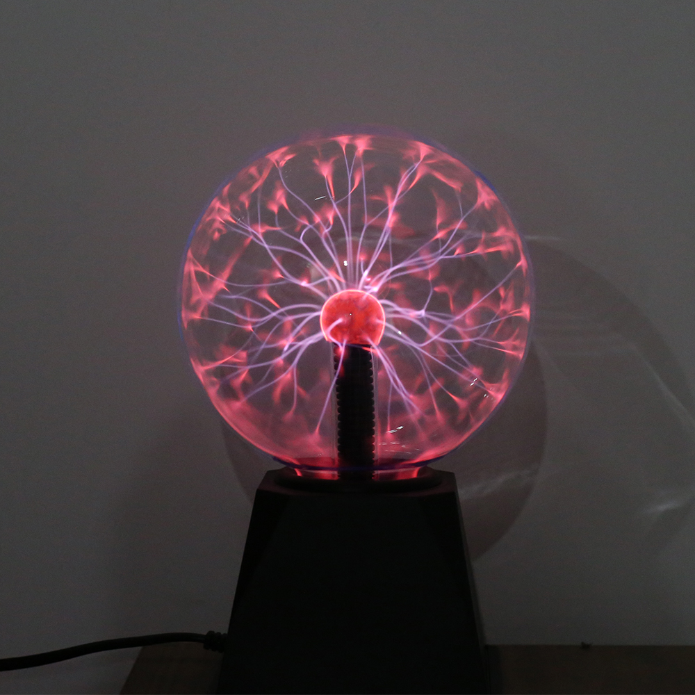 Novelty Glass Magic Plasma Ball Light Electric Lamp 220V 3 4 5 6 Inch Night Light Kids Gift Birthday Christmas Decor Plasma Lamp 5