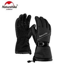 Naturehike GL-03 3m Thinsulate Подкладка Зимние теплые перчатки водонепроницаемые ветрозащитные Анти-скользящие перчатки NH18S030-T