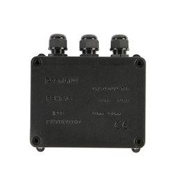 Powłoki Home elektryczna skrzynka przyłączeniowa złącze kabla IP68 wodoodporna na zewnątrz drutu zmniejszających palność zewnętrzny Terminal 3 Way|null|Majsterkowanie -