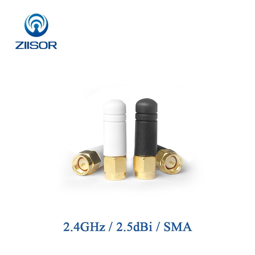 2.4GHz Router Antenna WIFI Mini Copper Antenna Super Short Omni Antena SMA Male RP SMA Female Wireless Module Aerial Z07-W2G4