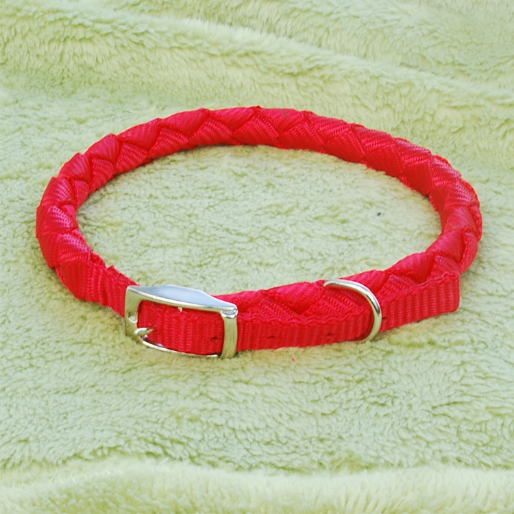 Hand-in-hand Pet Supplies Pet Collar Dogs And Cats Pet Bell Neck Ring Collar Weaving Neck Ring Pet Neckband