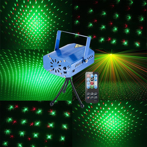 Image 2 - LED Laser Lights Disco Projector Stage Light Effect DJ Voice activated Light Party Wedding Christmas Deco with Remote