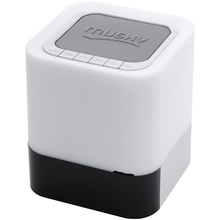 Bluetooth Speaker Clock Touch-Sensor Dimmable Light Lamp Bedside Color-Changing Warm