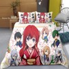 Cartoon Japan Anime Girls Bedding Set Yona Of The Dawn Duvet Cover For Bedroom Bed Quilt Cover Comfortable Soft Bedclothes