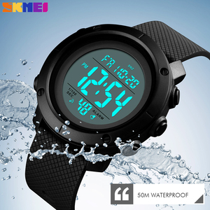 Image 3 - Skmei高級スポーツメンズ腕時計ファッション防水腕時計ledデジタル軍事クロノ時計男性レロジオのmasculino
