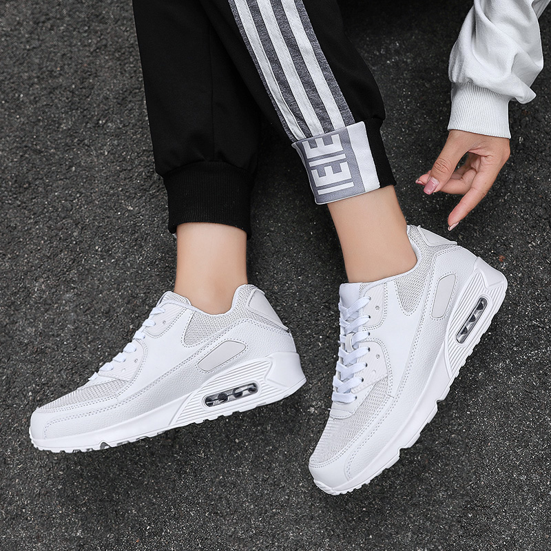 Lightweight Running Shoes Men Breathable Air Cushion Sneakers  Fitness Trainers Sports Shoes Women Outdoor Athletic Large Size