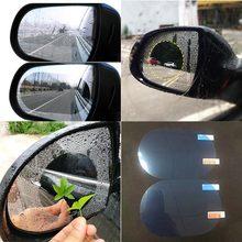 1Pc specchietto retrovisore pellicola antipioggia antinebbia specchio retrovisore pellicola impermeabile specchio per auto pellicola antipioggia accessori auto