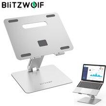 BlitzWolf BW ELS2 uchwyt podstawka do laptopa składana podstawka do laptopa ze stopu aluminium rozpraszanie ciepła z regulowanym kątem akcesoria do laptopa