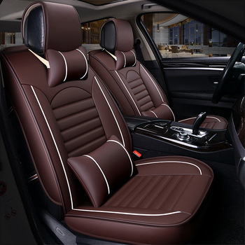 Kalaisike leather Universal Car Seat covers for Infiniti QX70 QX30 ESQ Q50 Q70 QX50 M G FX series auto accessories styling