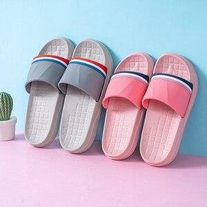 Image 5 - คนรักรองเท้าแตะในร่มฤดูร้อน Antiskid ห้องน้ำชายด้านล่างนุ่มในร่ม Mute รองเท้าแตะผู้ชายรองเท้า