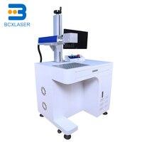 auto Online Flying Laser Marker 20W 30W CO2 fiber laser marking machine for Wood Plastic Leather
