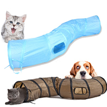 120cmS Funny Pet Tunnel Cat Playing Tunnel Brown Foldable 1 Hole Cat Tunnel Cat Toy Cat Toy Bulk Cat Toy Rabbit Playing Tunnel 8in1 cat stain and odor exterminator nm jfc s