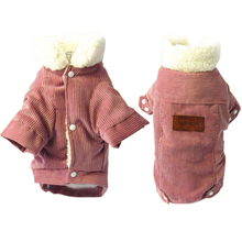 Cute Dog Clothes Winter French Bulldog For Small Dogs Warm Dress Pugs Clothing Chihuahua Pet