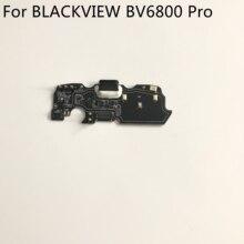 """Nova tomada usb placa de carga para blackview bv6800 pro mt6750t octa núcleo 5.7 """"fhd 2160x1080 telefone móvel"""