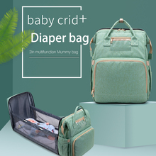 Bags Backpack Diaper-Bag Fold-Bed Travel Multifunction Birthing Large-Capacity Mummy