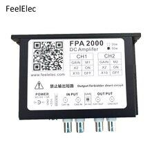 Feeltech FPA2000 50W wysokiej mocy wzmacniacz dwukanałowy wzmocnić dla przebiegów arbitralnych funkcja Generator sygnału
