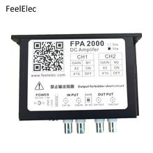 Feeltech FPA2000 50W 高電源デュアルチャネルアンプ増幅ため任意波形機能信号発生器