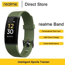 Realme Band Smart Bracelet IP68 Waterproof Smart Band Heart Rate Monitor Water Reminder  Sports Tracker