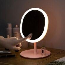 led mirror makeup mirror with led light vanity mirror light desktop miror for makeup зеркало espejo de maquillaje spiegel