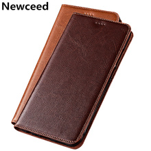цена на Genuine Leather Magnetic Phone Case Stand Flip Cover For OPPO Reno Ace/Reno Z/Reno 2/OPPO Reno/OPPO Reno 10x Zoom Flip Phone Bag
