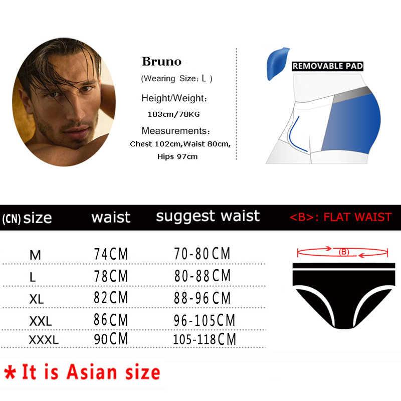 YK012C Datifer męskie szorty kąpielowe strój kąpielowy męski strój kąpielowy rozmiar XXL Sexy niskie bokserki lato Sunga kostiumy kąpielowe 2020 Bain