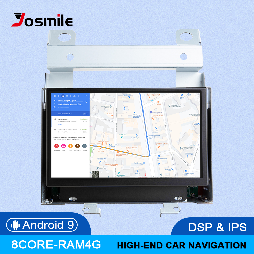 IPS DSP 4GB 2 din Android 9.0 GPS Auto Multimedia Player Für Land Rover Freelander 2 2007 2008 2009 2010 2011 2012 RadioHead Einheit image