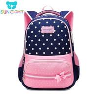 SONNE ACHT Neue Schule Taschen für Mädchen Marke Frauen Rucksack Günstige Schulter Tasche Großhandel Kinder Rucksäcke mochilas escolares infantis-in Schultaschen aus Gepäck & Taschen bei