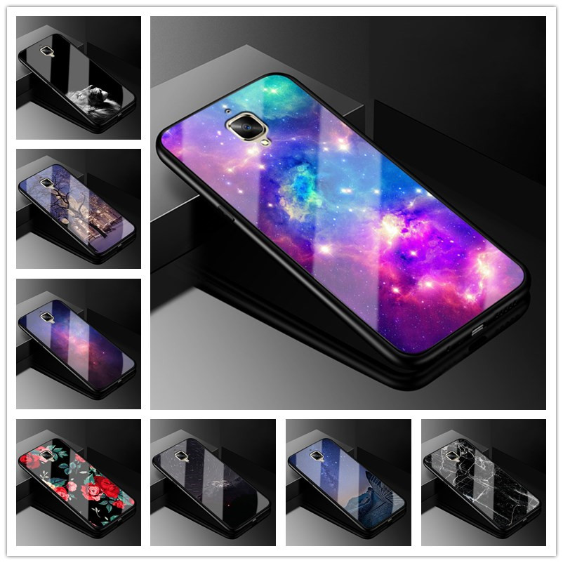 For Oneplus 3T Case A3010 Tempered Glass Hard Back Cover For One Plus 3 3T A3003 Case Soft Bumper for Oneplus3 oneplus3t 1+ 3