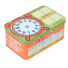 Железная коробка shu zi bang Детские арифметические палочки Счетные палочки детская Математика раннее образовательное обучение помощь Магнитная Ala