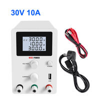 30V 10A Switching DC Power Supply Voltage Regulators Lab Repair Tool Adjustable Power Source power display 0.01V 0.001A 0.001W