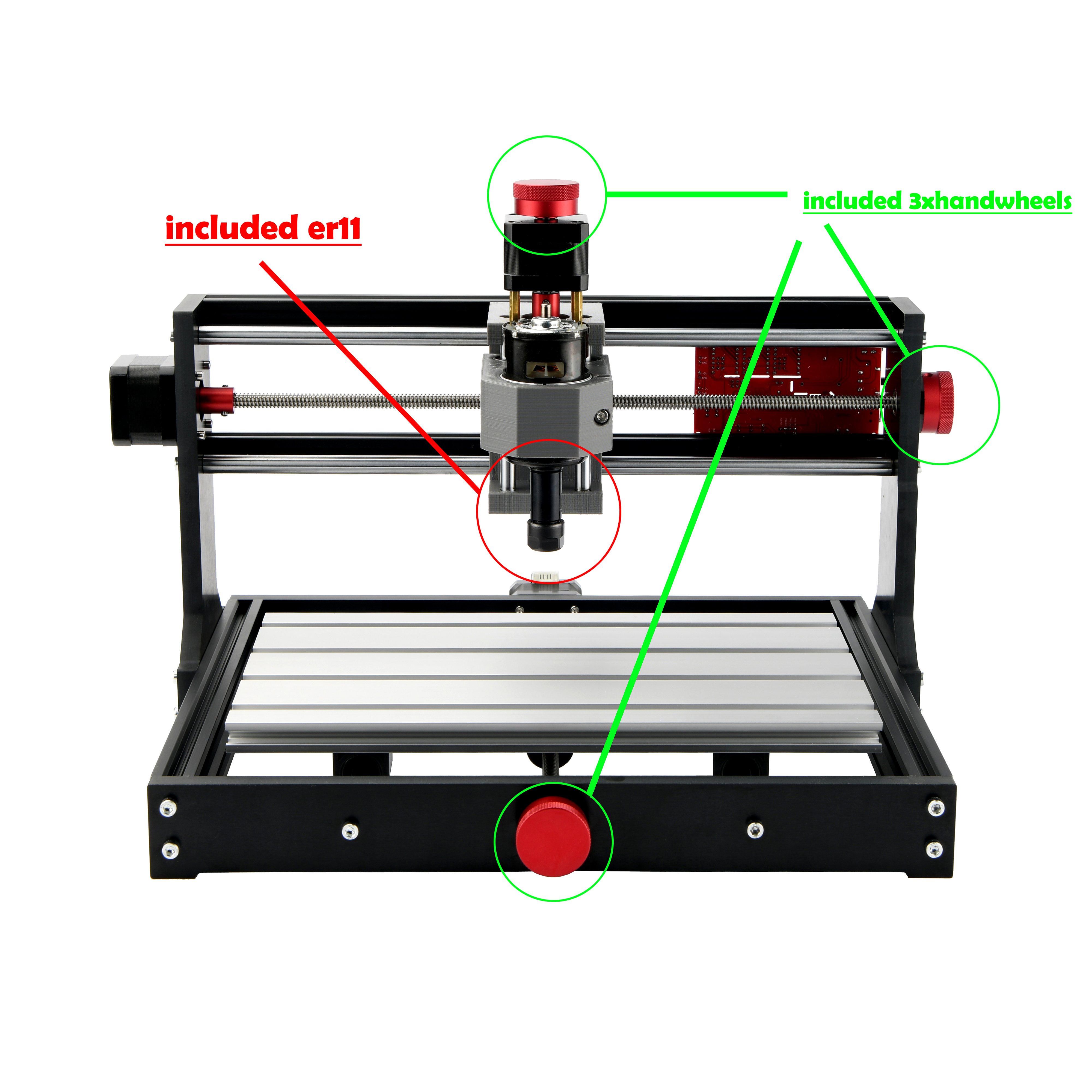 Hot DealsMostics Pcb Engraving-Machine Cnc Router Cnc 3018 GRBL ER11 PRO