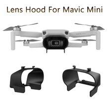 Mavic Mini Lens Hood parlama önleyici Gimbal Lens kapağı güneşlik koruyucu kapak için DJI Mavic Mini aksesuarları