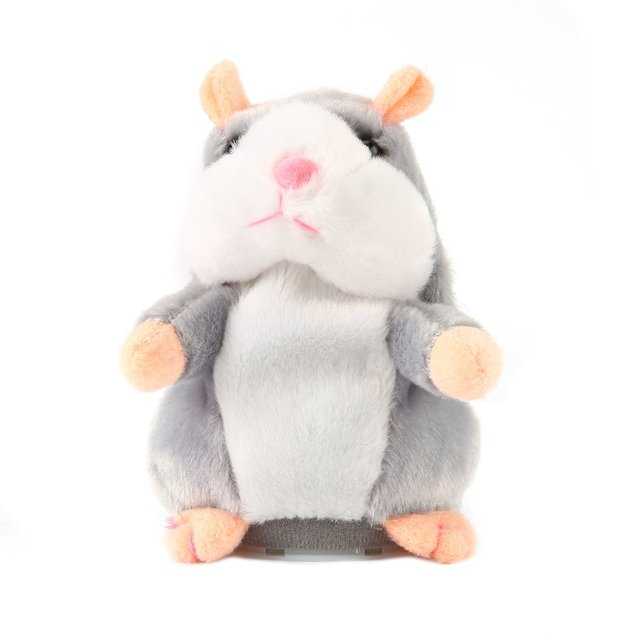 Speaking Talking Sound Record Hamster Sweet Animals Talking Hamster Toys for Children Stuffed & Plush Animals Sweetie Toys